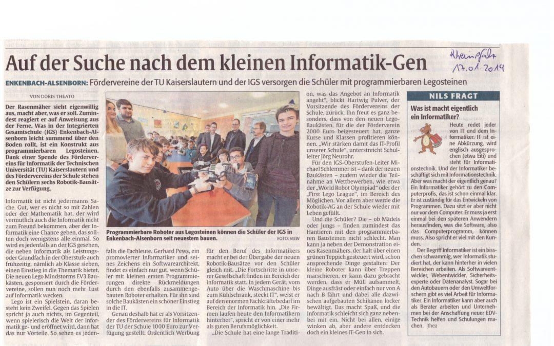 Legokästen für die IGS Enkenbach-Alsenborn