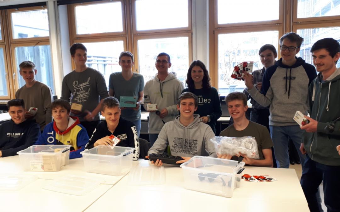 Raspberry Pi Sets für das Europagymnasium Wörth