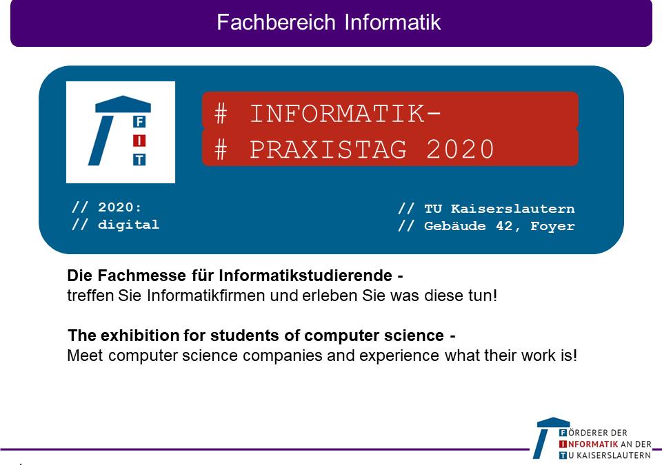 Informatik-Praxistag 2020